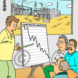 Industry Cartoon 09 a Cartoon Image and funny joke for license by Dan Rosandich