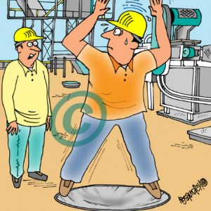 Industry Cartoon 10 a Cartoon Image and funny joke for license by Dan Rosandich