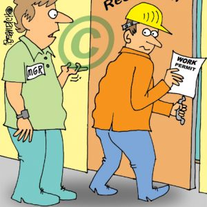 Industry Cartoon 11 a Cartoon Image and funny joke for license by Dan Rosandich