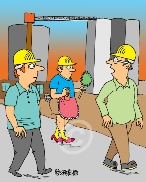 Industry Cartoon 14 a Cartoon Image and funny joke for license by Dan Rosandich