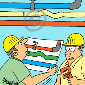 Industry Cartoon 19 a Cartoon Image and funny joke for license by Dan Rosandich