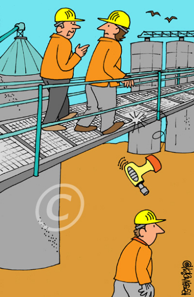 Industry Cartoon 28 a Cartoon Image and funny joke for license by Dan Rosandich