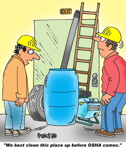 Industry Cartoon 29 a Cartoon Image and funny joke for license by Dan ...
