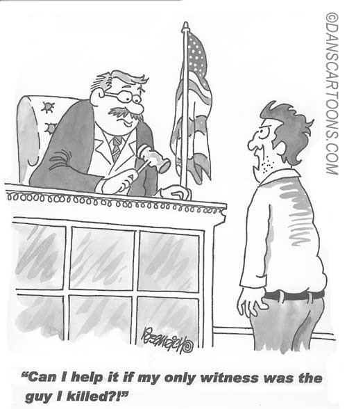 Law Legal Lawyer Cartoon 002 a Cartoon Image and funny joke for license by Dan Rosandich