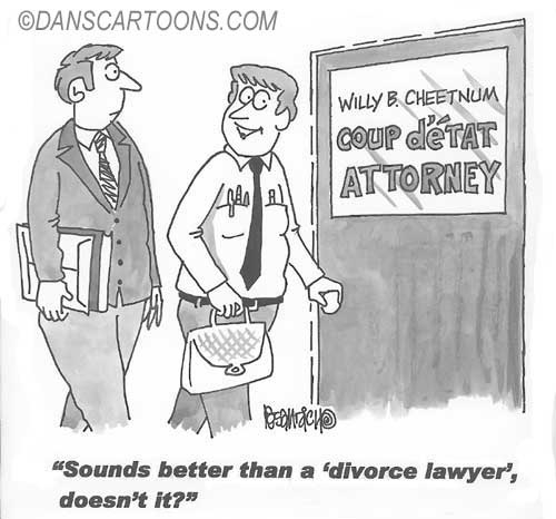 Law Legal Lawyer Cartoon 003 a Cartoon Image and funny joke for license by Dan Rosandich