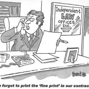 Law Legal Lawyer Cartoon 027 a Cartoon Image and funny joke for license by Dan Rosandich