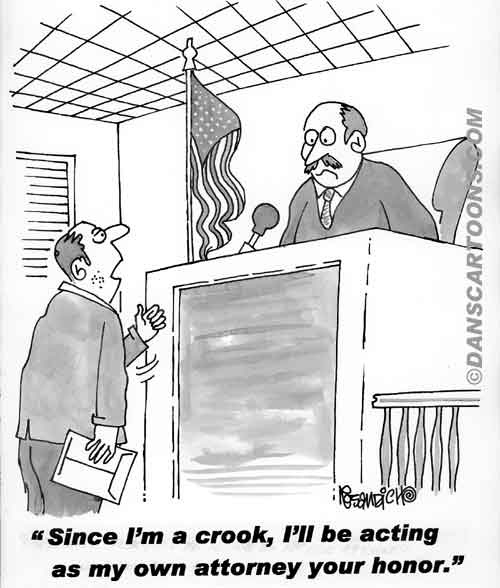 Law Legal Lawyer Cartoon 062 a Cartoon Image and funny joke for license by Dan Rosandich