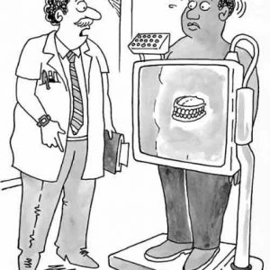 Medical Cartoon 021 a Cartoon Image and funny joke for license by Dan Rosandich