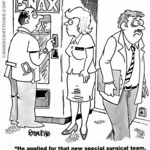Medical Cartoon 023 a Cartoon Image and funny joke for license by Dan Rosandich