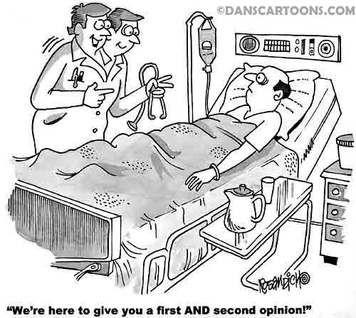 Medical Cartoon 119 a Cartoon Image and funny joke for license by Dan Rosandich