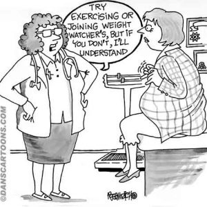 exercising weight watchers