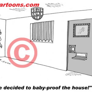 Pediatrician Cartoon 026 a Cartoon Image and funny joke for license by Dan Rosandich