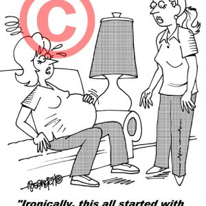 Pediatrician Cartoon 058 a Cartoon Image and funny joke for license by Dan Rosandich