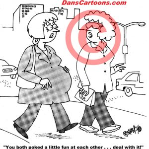 Pediatrician Cartoon 067 a Cartoon Image and funny joke for license by Dan Rosandich