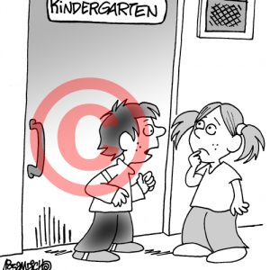 Pediatrician Cartoon 072 a Cartoon Image and funny joke for license by Dan Rosandich