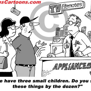 Pediatrician Cartoon 073 a Cartoon Image and funny joke for license by Dan Rosandich
