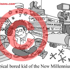 Pediatrician Cartoon 077 a Cartoon Image and funny joke for license by Dan Rosandich