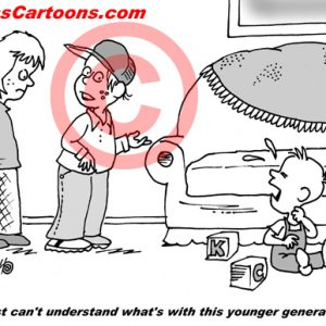 Pediatrician Cartoon 081 a Cartoon Image and funny joke for license by Dan Rosandich