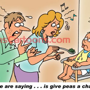Pediatrician Cartoon 085 a Cartoon Image and funny joke for license by Dan Rosandich