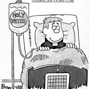 Religion Church Cartoon 02 a Cartoon Image and funny joke for license by Dan Rosandich