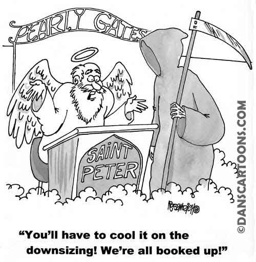 Religion Church Cartoon 05 a Cartoon Image and funny joke for license by Dan Rosandich