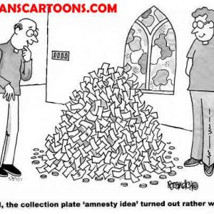 Religion Church Cartoon 64 a Cartoon Image and funny joke for license by Dan Rosandich