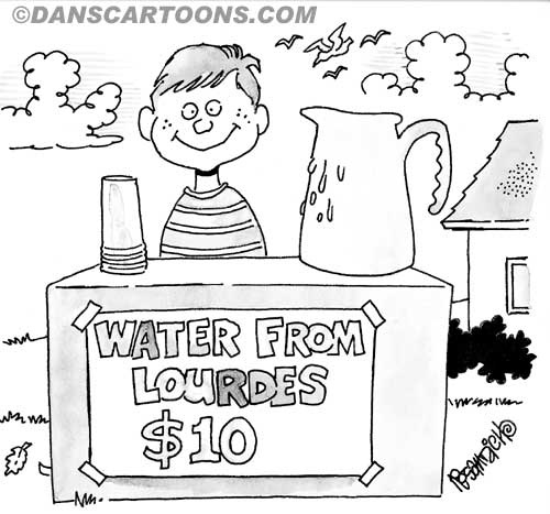 Religion Church Cartoon 97 a Cartoon Image and funny joke for license by Dan Rosandich