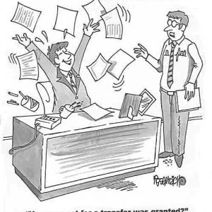 Business Cartoon Biz 032   a Cartoon Image and funny joke for license by Dan Rosandich