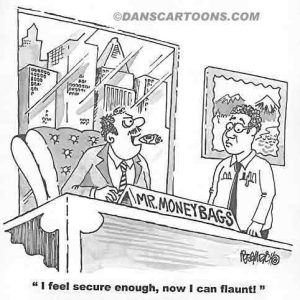 Business Cartoon Biz 033   a Cartoon Image and funny joke for license by Dan Rosandich