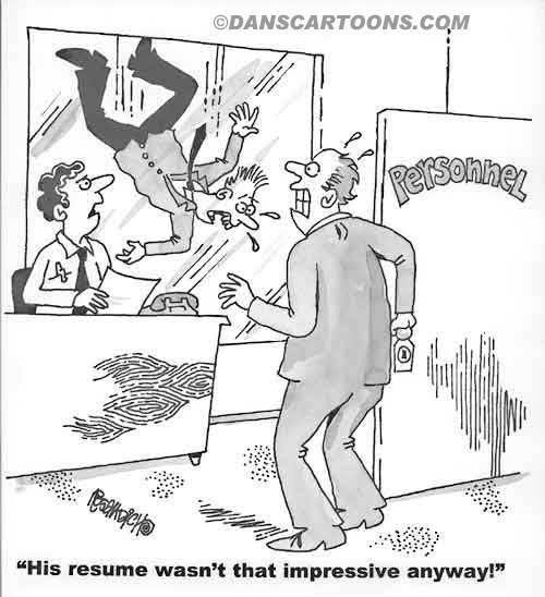 Business Cartoon Biz 075   a Cartoon Image and funny joke for license by Dan Rosandich