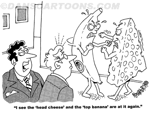 Business Cartoon Biz 139   a Cartoon Image and funny joke for license by Dan Rosandich
