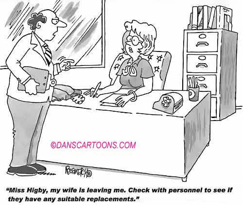 Business Cartoon Biz 276   a Cartoon Image and funny joke for license by Dan Rosandich