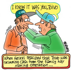 Yooper Michigan Cartoon 062    a Cartoon Image and funny joke for license by Dan Rosandich