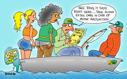 Yooper Michigan Cartoon 088    a Cartoon Image and funny joke for license by Dan Rosandich
