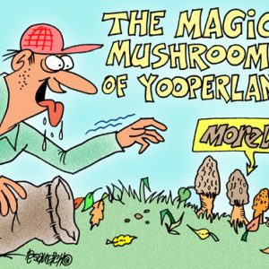 Yooper Michigan Cartoon 107    a Cartoon Image and funny joke for license by Dan Rosandich
