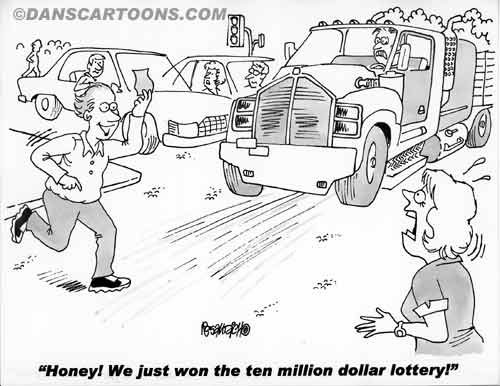 Car Automobile Cartoon 07 a Cartoon Image and funny joke in the genre of cars and automobiles. Images for license by Dan Rosandich