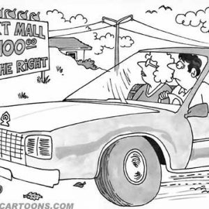 Car Automobile Cartoon 32 a Cartoon Image and funny joke in the genre of cars and automobiles. Images for license by Dan Rosandich