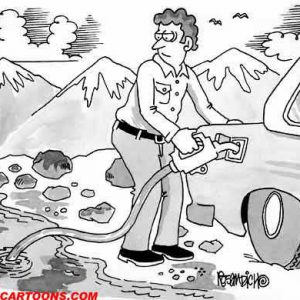 Car Automobile Cartoon 36 a Cartoon Image and funny joke in the genre of cars and automobiles. Images for license by Dan Rosandich