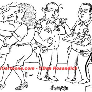 Law Enforcement Police Cartoon 106