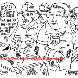 Law Enforcement Police Cartoon 107