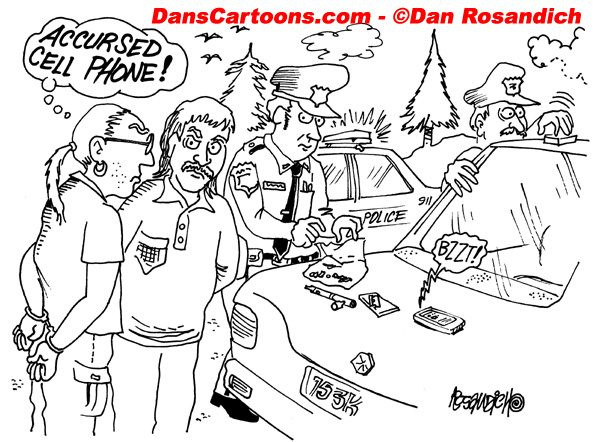 Law Enforcement Police Cartoon 111