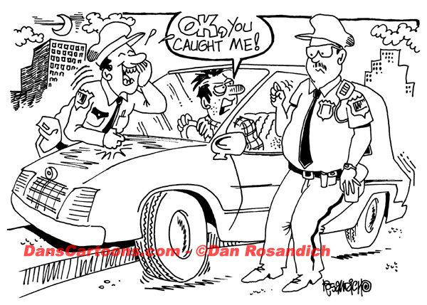 Law Enforcement Police Cartoon 118