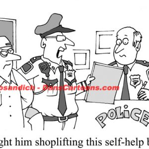 Law Enforcement Police Cartoon 12