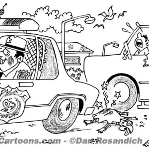 Law Enforcement Police Cartoon 120