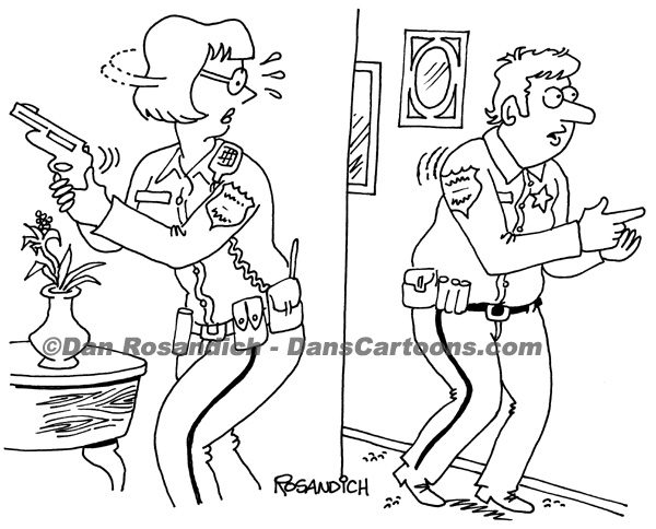 Law Enforcement Police Cartoon 139