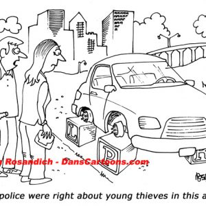 Law Enforcement Police Cartoon 14