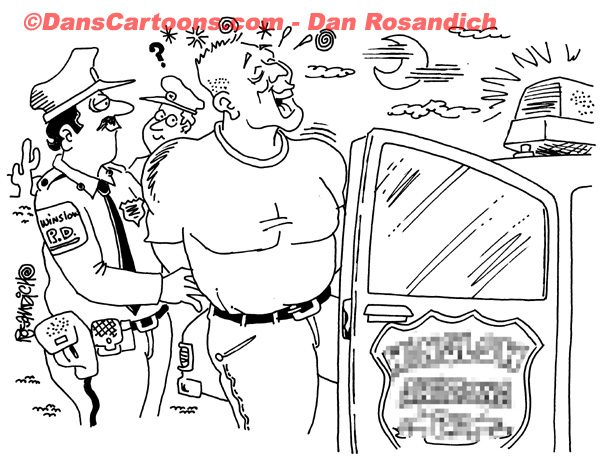 Law Enforcement Police Cartoon 146