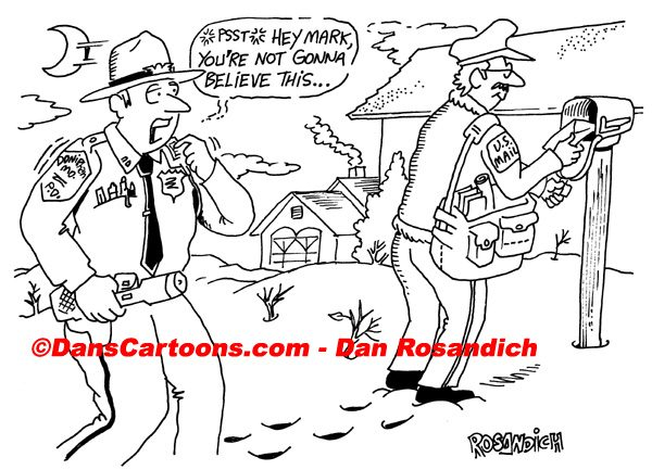 Law Enforcement Police Cartoon 150