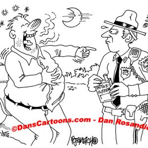 Law Enforcement Police Cartoon 154