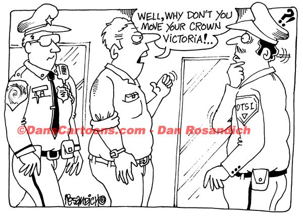 Law Enforcement Police Cartoon 160
